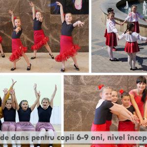 Grupa noua – cursuri de dans pentru copii 6-9 ani, nivel incepator