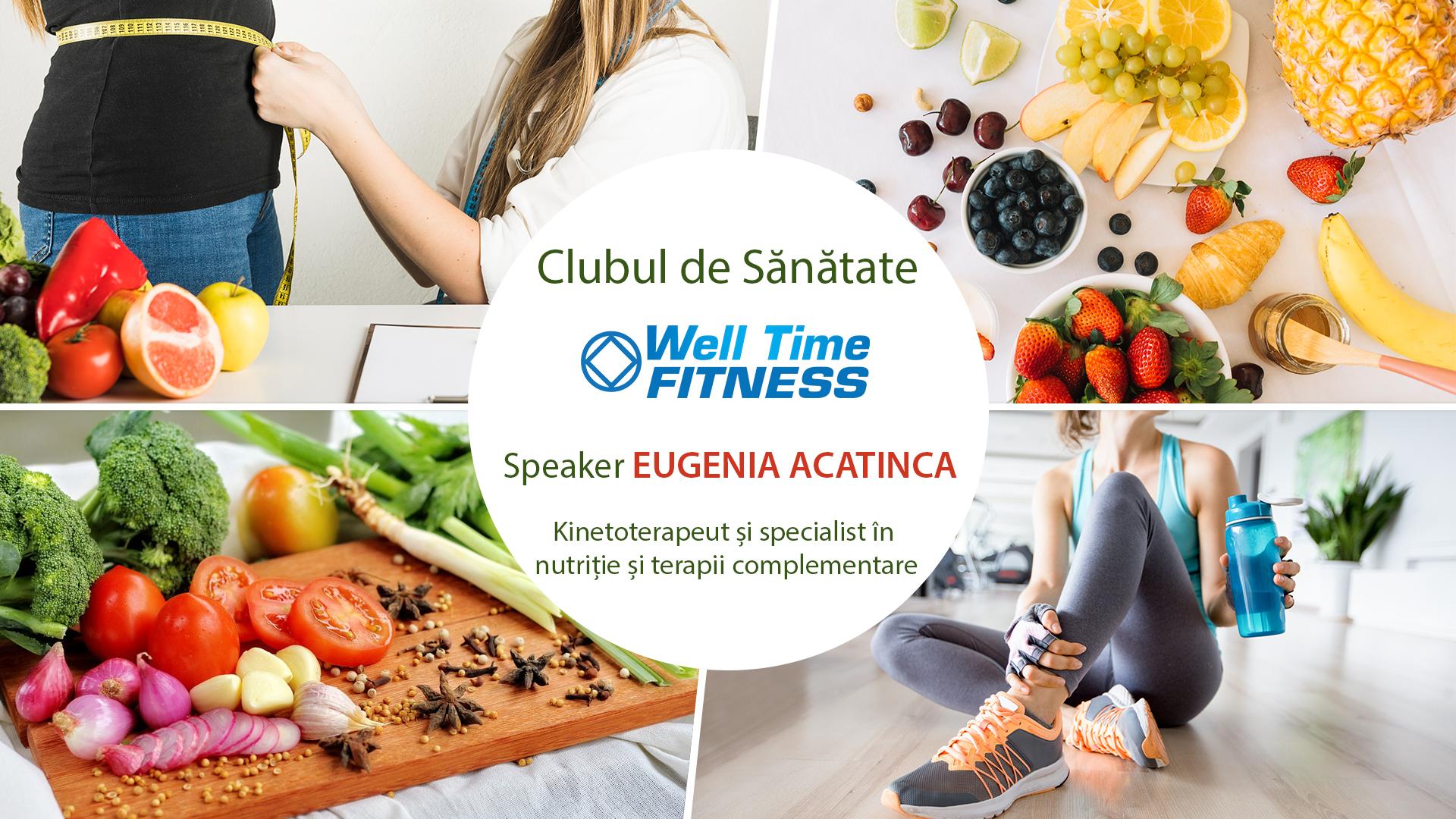 Clubul de sanatate Well Time Fitness
